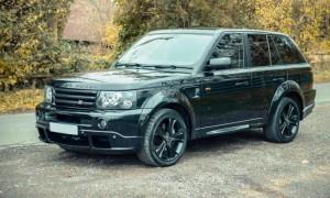 David Beckham Range Rover Sport