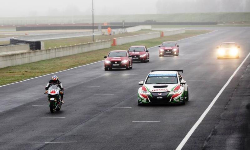 Honda motorsport stars