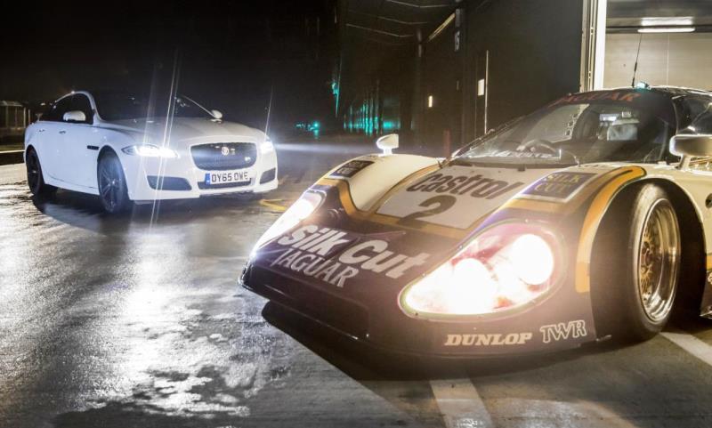 Le Mans-winning Jaguar XJ-R9 LM
