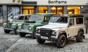 Two-millionth Land Rover Defender