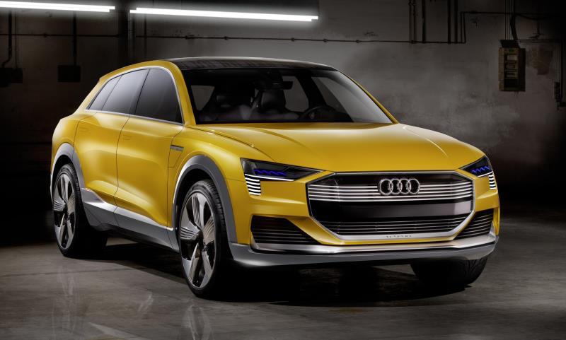 Audi h‑tron quattro concept