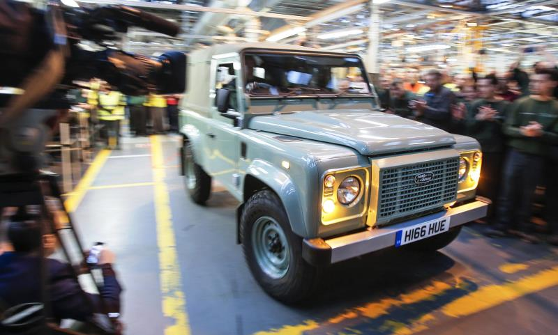 Last Land Rover Defender