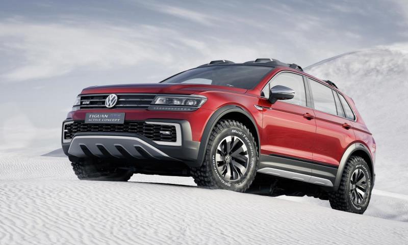Volkswagen Tiguan GTE Active Concept 5