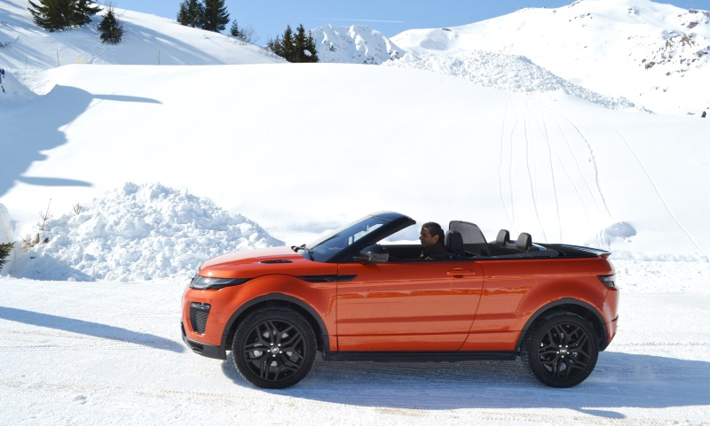 Range Rover Evoque Convertible Gareth Herincx