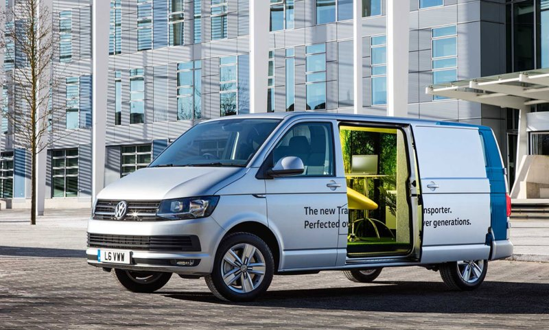 VW vans become startup office spaces