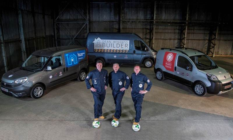 Fiat Professional Tradesman Trials- Stuart Pearce, Dean Windass, Geoff Horsfield