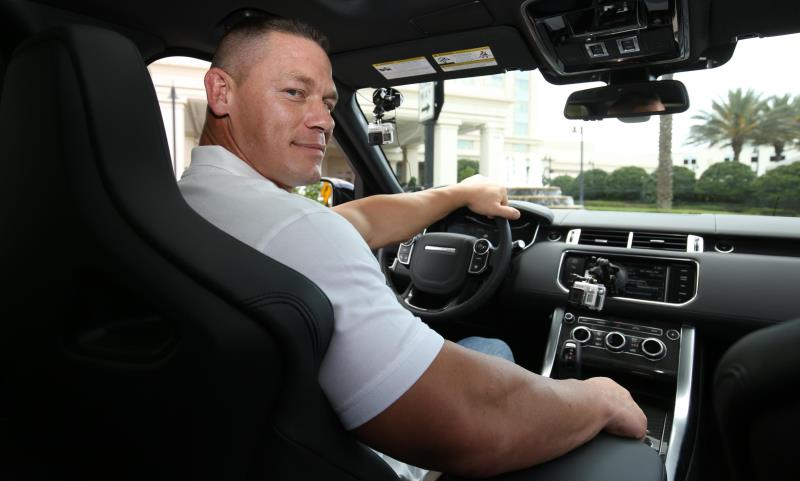 John Cena is a Range Rover surprise chauffeur