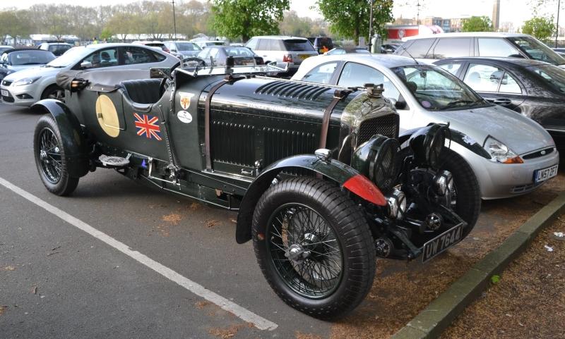 London Motor Show car park
