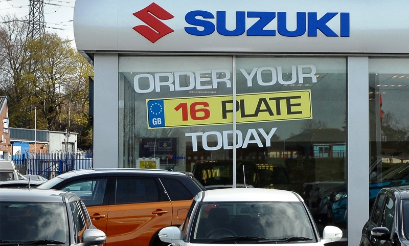 Suzuki dealership