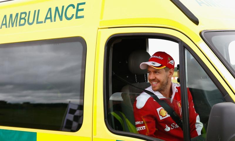 Sebastian Vettel's 999 'job swap'