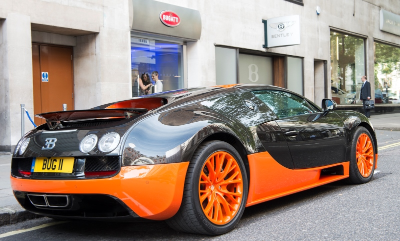 New HR Owen Bugatti dealership
