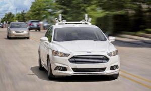 Ford Fusion driverless testing