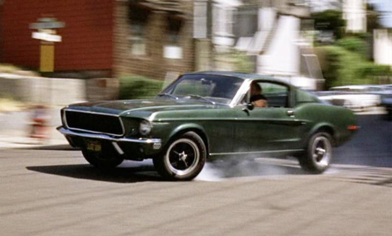 McQueen's Mustang