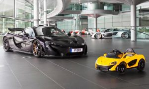Pure electric McLaren launched