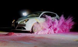 Alfa Romeo MiTo's art attack