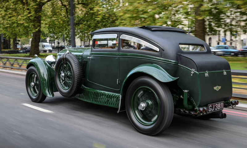 Bentley 'Blue Train', a car Matthew Humpries would like to bring into modern times