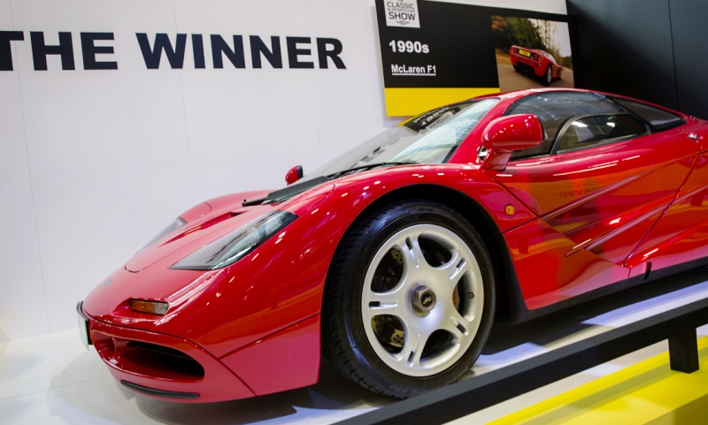 McLaren F1 crowned the Greatest Supercar Ever