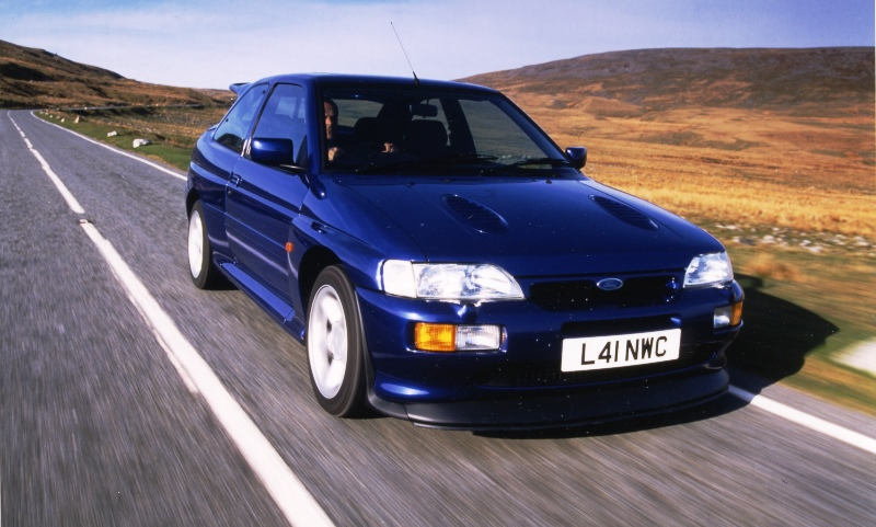 Stephen Harper was one of the main men behind the Escort RS Cosworth
