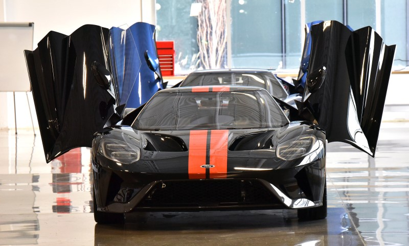 First Ford GT supercar