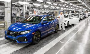 Honda Civic manufacture in Swindon