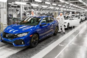 Honda Civic manufacture in Swindon