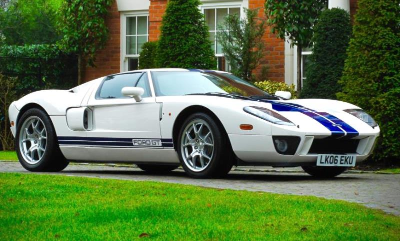 2005 Ford GT - Ex Jenson Button MBE