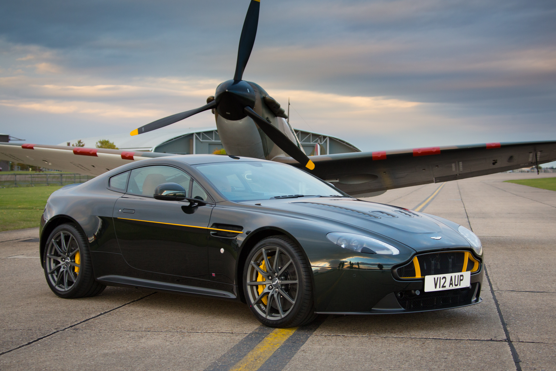 Take Off For Aston Martin S Spitfire Specials Automotive