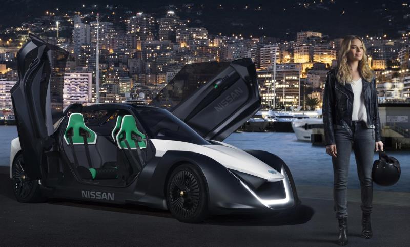 Margot Robbie - Nissan's first electric vehicle ambassador
