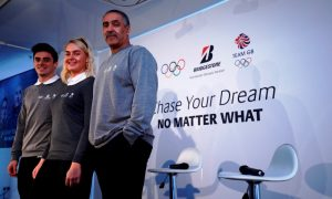 Bridgestone Olympics - Daley Thompson, Chris Mears and Charley Hill