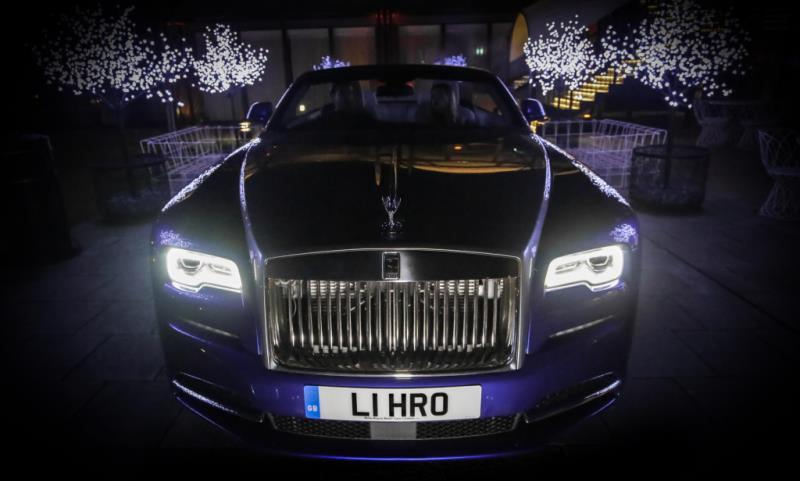 London Motor Show Rolls-Royce