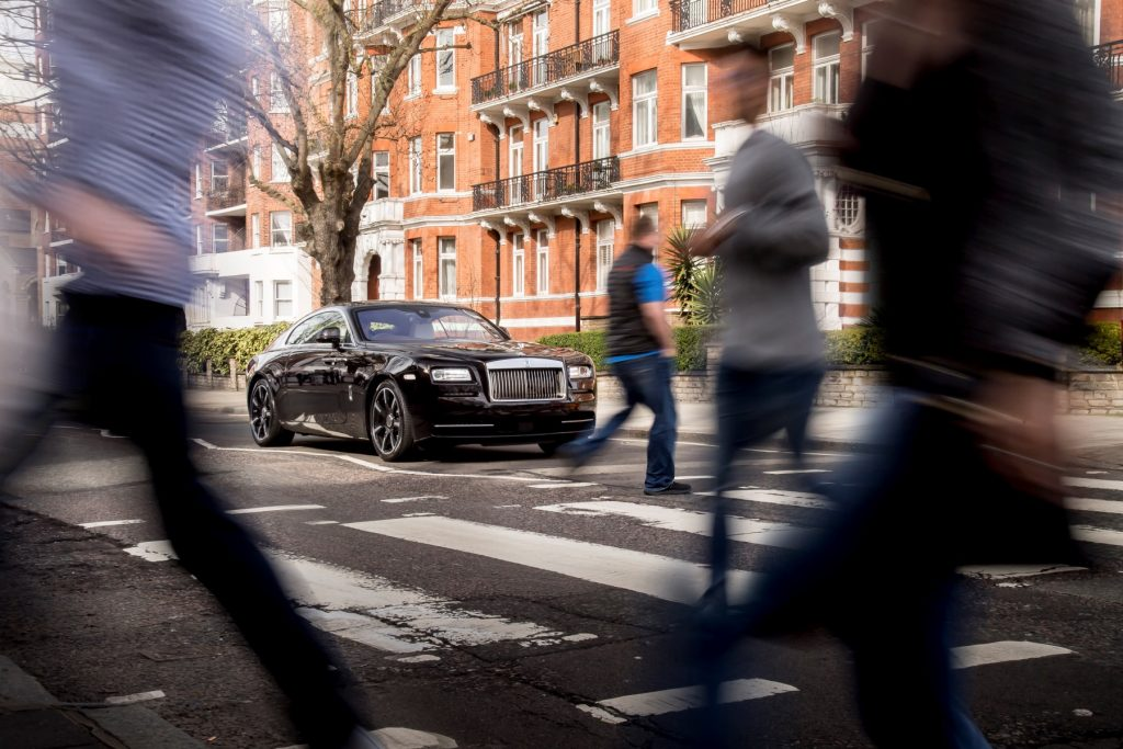 Rolls-Royce Wraith Inspired by British Music