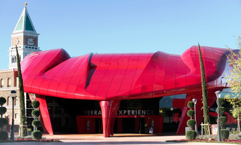Ferrari Land_Ferrari Experience
