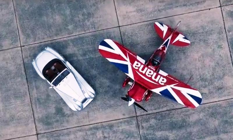 Morgan Aero 8 vs stunt biplane