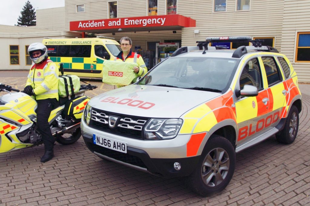 Dacia UK provides Duster to aid the Service by Emergency Rider Volunteers across Oxfordshire, Buckinghamshire, Berkshire and Northamptonshire (SERV OBN)