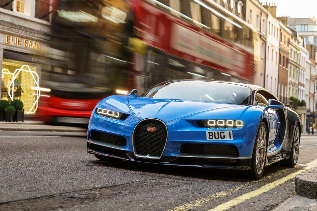 First Bugatti Chiron customer car in the UK
