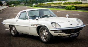 Mazda celebrates the Cosmo Sport's 50th birthday