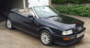 1994 Audi Cabriolet used by Diana Princes of Wales up for auction