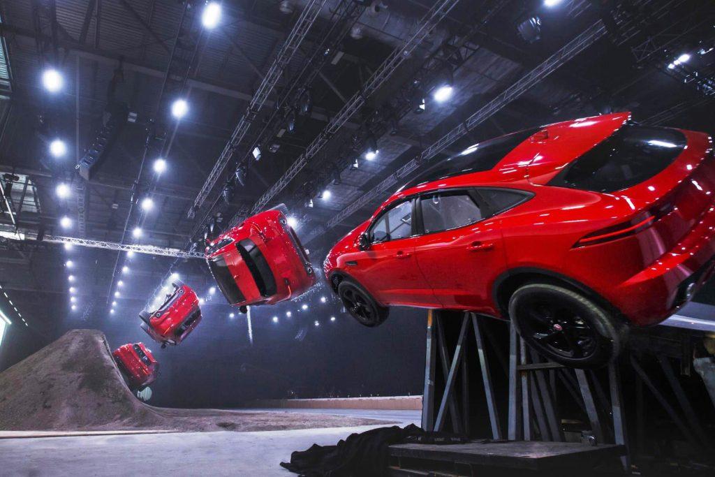 New Jaguar E-Pace compact SUV