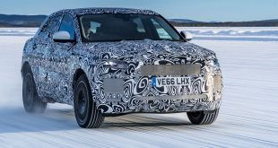 Jaguar E-Pace extreme testing in Arjeplog