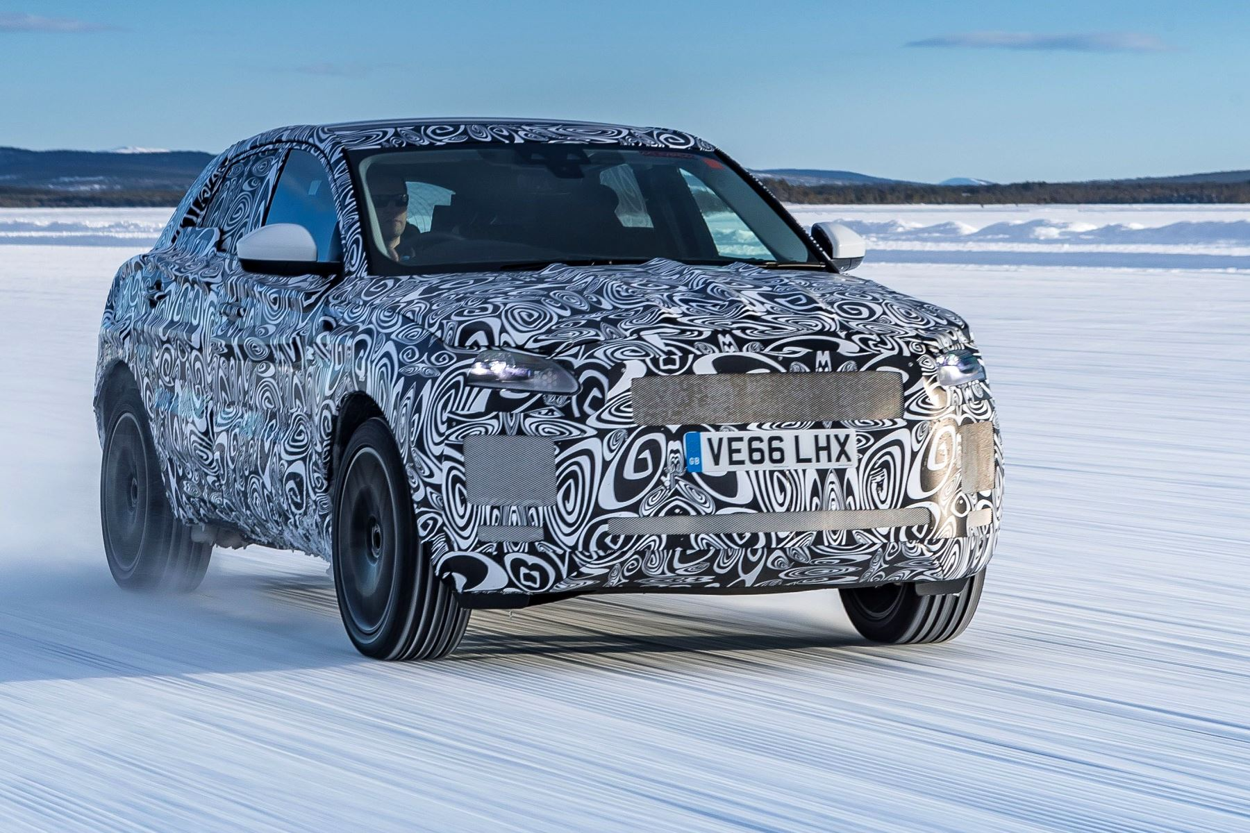 Jaguar E-Pace - 150 prototypes, 120000 test hours