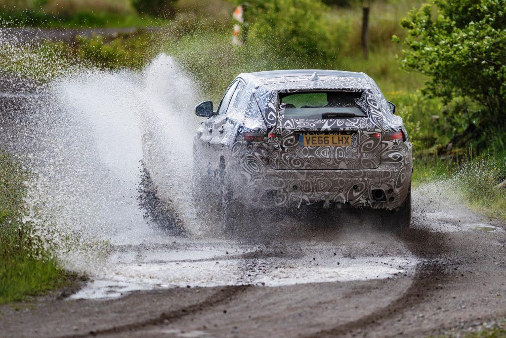 Jaguar E-Pace extreme testing