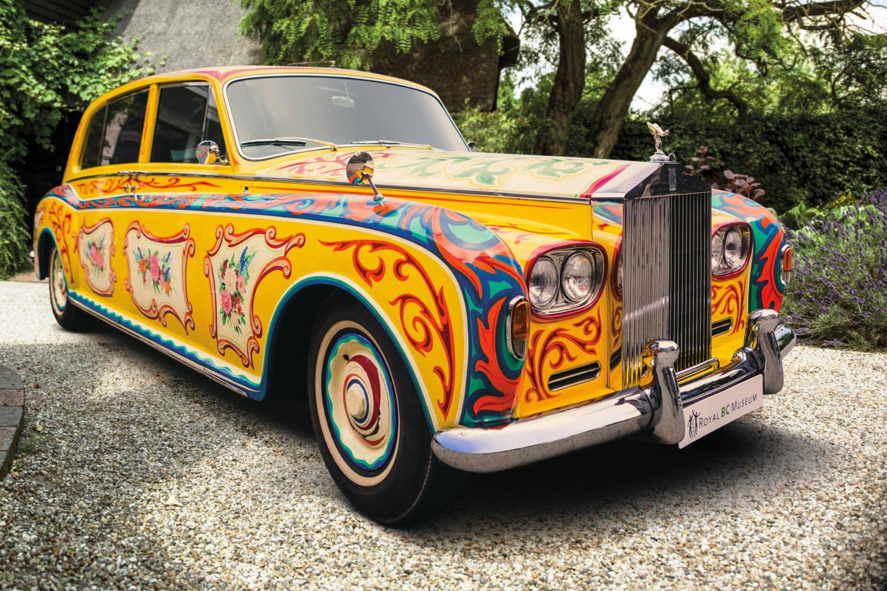 Lennon's 'psychedelic' Rolls-Royce is coming home