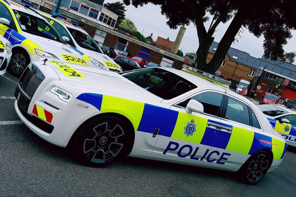 Rolls-Royce 'police car'