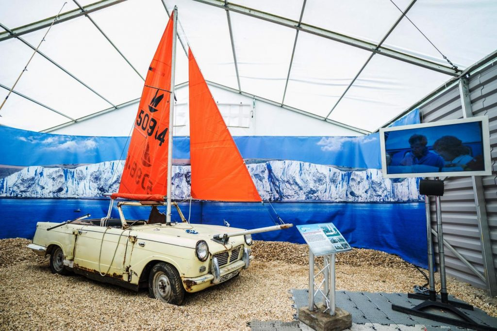 Top Gear boat
