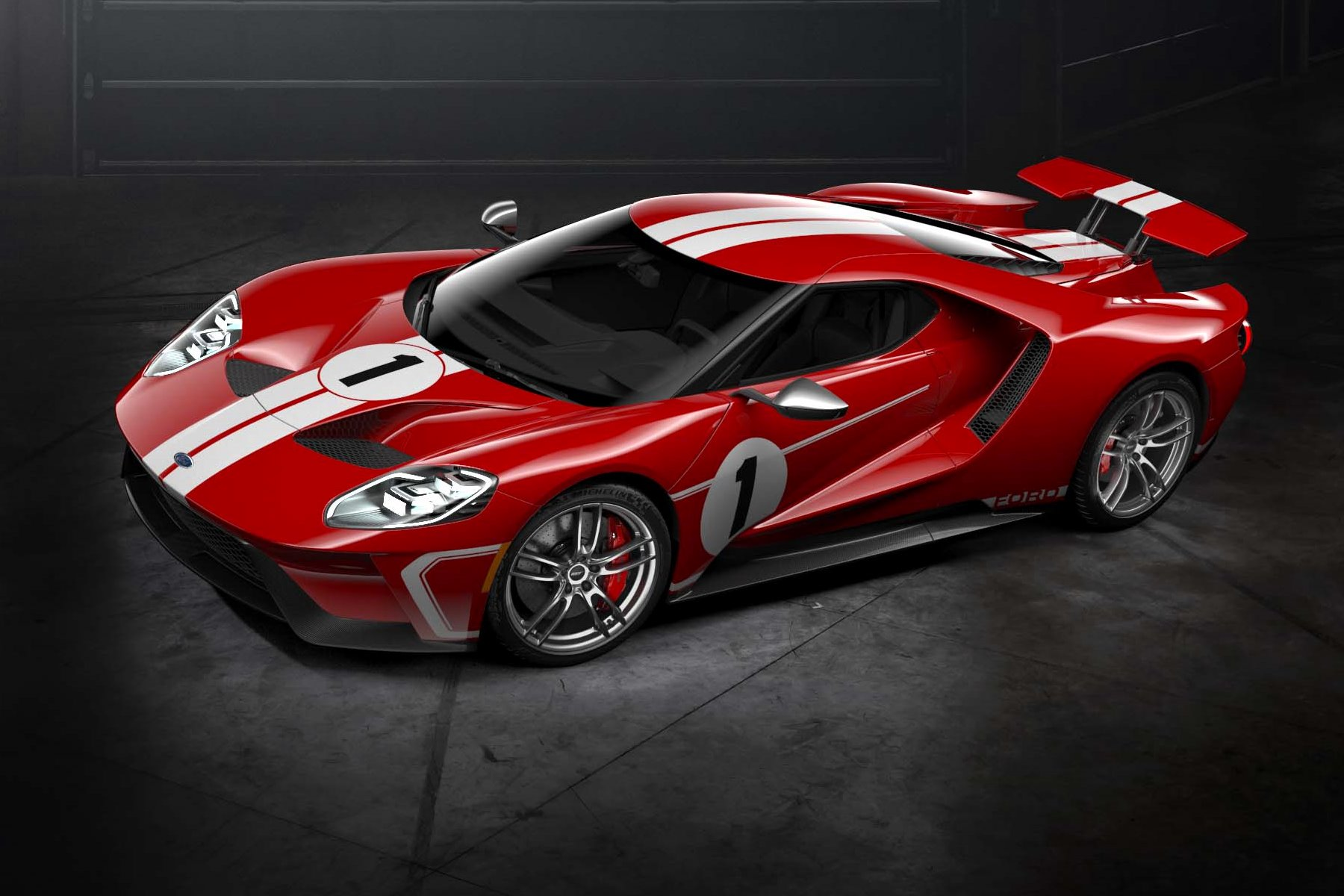Ford Introduces 'Heritage' Themed 2018 Ford GT