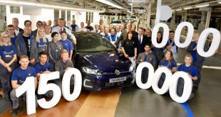 Volkswagen's 150,000th vehicle