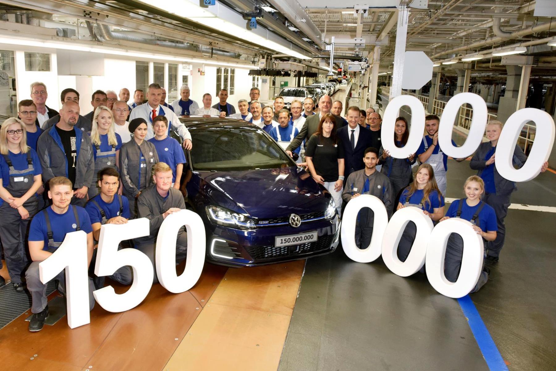 150 million vehicle milestone for Volkswagen