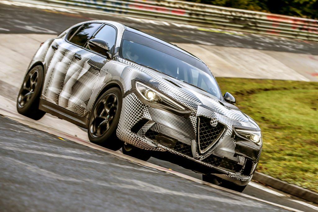 Alfa Romeo Stelvio Quadrifoglio Nurburgring lap record