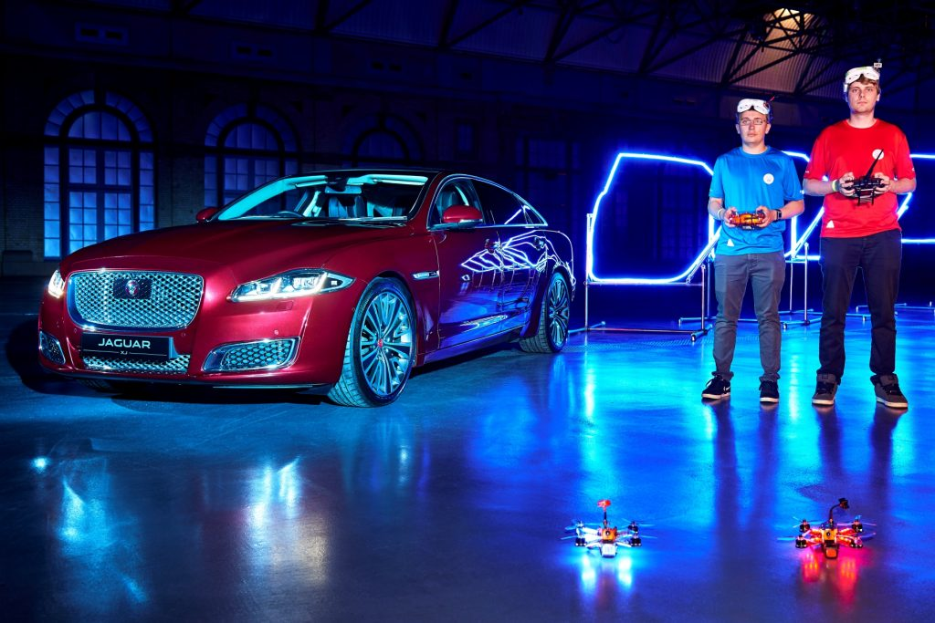 Jaguar XJ Game of Drones