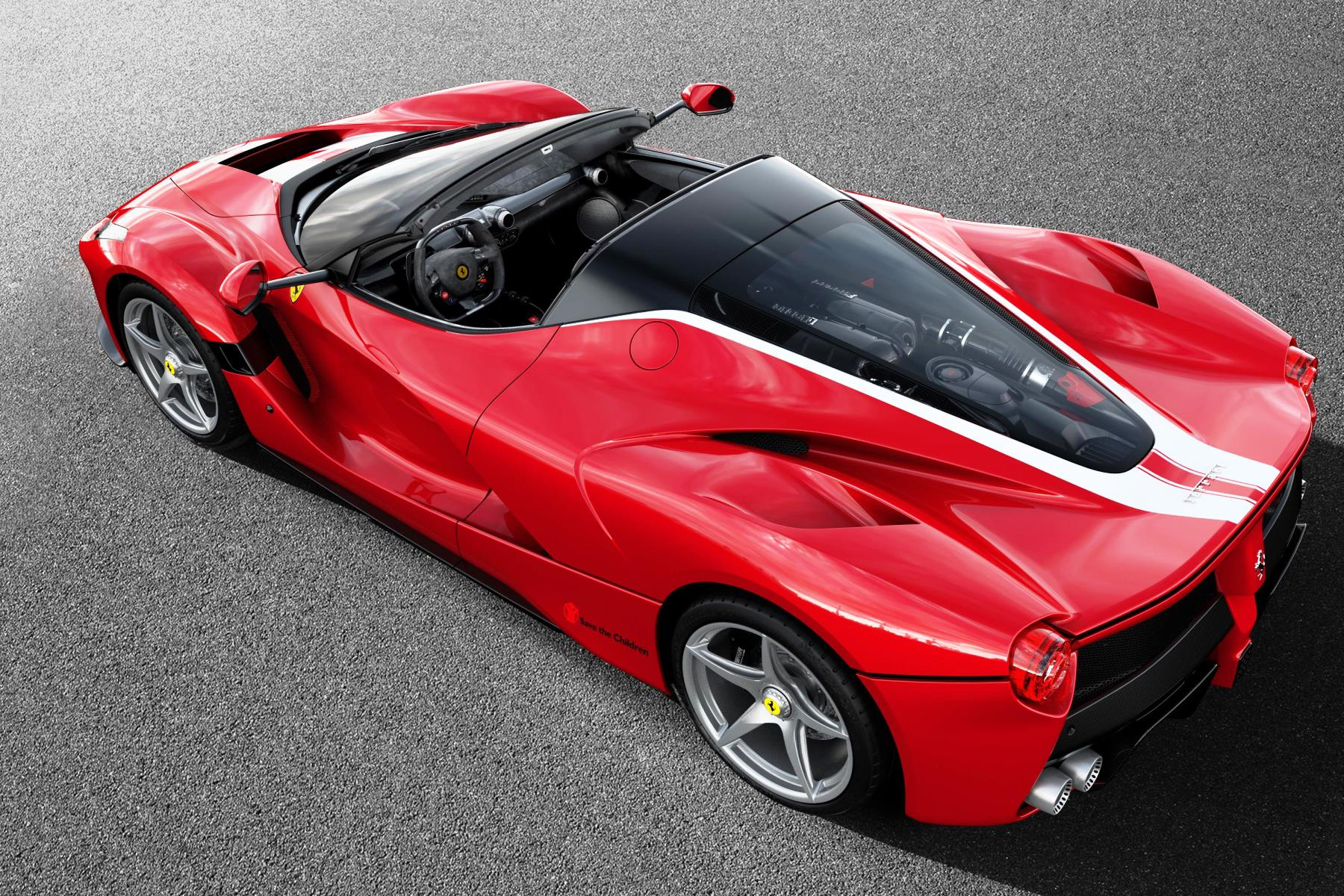 Special LaFerrari Aperta raises R129m for charity